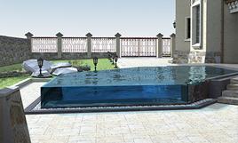 Расчёт оптимальной формы и размеров бассейна