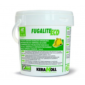 Затирка керамизированная Kerakoll Fugalite Eco, 2-компонентная, цвет Антрацит-05, 3 кг Kerakoll Fugalite Eco 04995