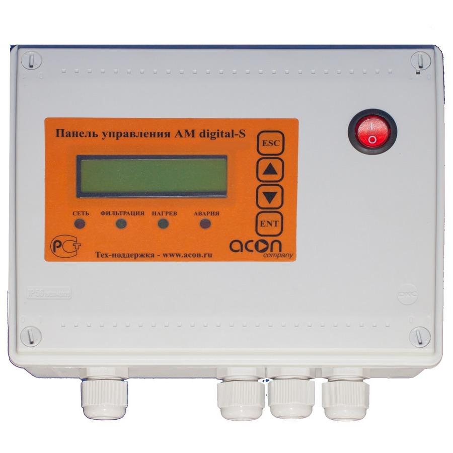 Панель управления фильтрации и теплообменником пример расчета теплообменника ридан